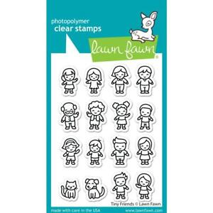 Lawn Fawn Stamps Tiny Friends LF2506