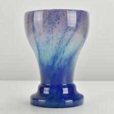 French Art Deco Studio Art Glass Vase attr. to Charles Schneider Vintage Antique