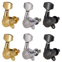 Locked String Tuning Pegs Mechaniken für Akustische E Gitarren Lock U2I6