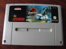 JURASSIC PARK   PART 2  : THE CHAOS CONTINUES   --   pour SUPER  NINTENDO / SNES