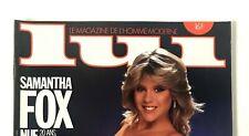 ► LUI N°275/1986 - SAMANTHA FOX