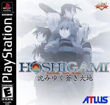 Hoshigami Ruining Blue Earth Ps1 Playstation 1