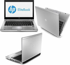 "HP EliteBook 8470p 14"" i7 3rd Gen 4GB Ram 320GB HDD cámara web Win 10 Pro"