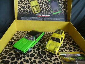 SCALEXTRIC MINT BOXED ONLY FOOLS & HORSES SPECIAL EDITION TWINPACK ROBIN & CAPRI