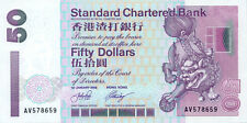 Hong Kong Standard Chartered Bank P-286c 50 dollars 2002 UNC