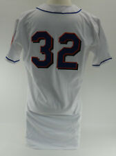 1999 New York Mets  #32 Game Issued Possible Game Used White Alt Jersey 5778