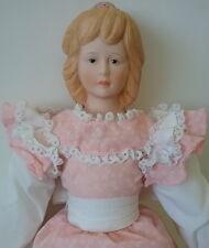 Little Women Alcott Beth Pink Dress Bisque Shoulder Plate Doll New MIB 1983 Russ