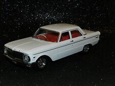 DDA Collectibles 1/18 Ford Falcon XP Sedan 1965 White Mag Wheel Variation MIB
