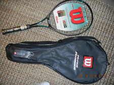 New! Wilson SPS E/X Court Oversize Tennis Racquet Beautiful Racquet