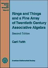 Rings and Things and a Fine Array of Twentieth Century Associative Algebra (Math