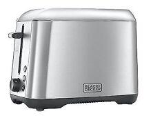Black & Decker 24270 2-Slice Toaster Stainless Steel