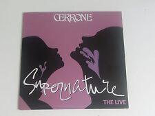 Cerrone Supernature The Live 1o Inch Record