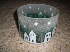 NIB Yankee Candle Winter Village Barrel Shade L/M Candles
