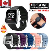 NEW Sport Wrist Watch Band for Fitbit Versa Silicone Wristbands Watch Strap Size