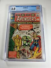 Avengers 1 CGC 3.0 1st team appearance of the Avengers! Vibrate colors!!