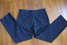 "Pantalon ""MEXX"" noir fines rayures blches T: 46 ++++++++"