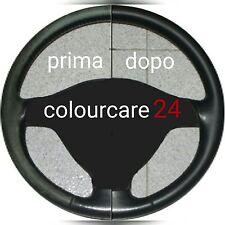 Kit Rinnova Colore Volante Pelle Alfa NERO F034 usura Ritocco Interni Ripristino