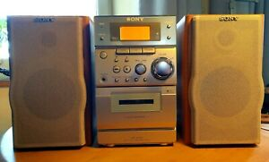 Sony micro hifi system CMT-EP505 With Speakers CD, Cassette Tape, Tuner mix tape