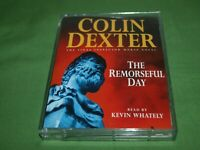 "Colin Dexter ""The Remorseful Day"" Cassette Audio Book - Read by Kevin Whately"