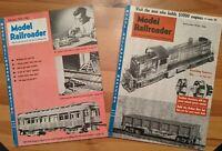 Model Railroader Mag Feb 1954 Sept 1954 Rheostat GP-7 Plans Cuts/Fills Free Ship