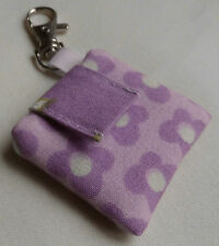 Handmade iPod shuffle 4th Generation Case/Cover/Pouch. Patterned cotton.