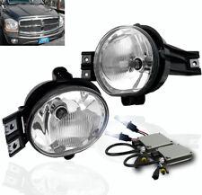 DODGE 2002-2008 RAM/2004-2006 DURANGO FRONT DRIVING CHROME FOG LIGHT LAMP+8K HID