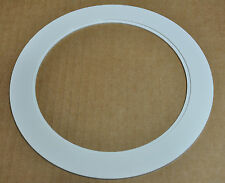 "6"" INCH OVER SIZE TRIM RING WHITE GOOF RING FOR RECESSED CAN LIGHT  24 PACK"