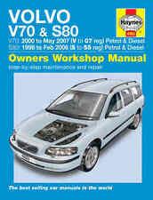Volvo S80 Repair Manual Haynes Workshop Service Manual  1998-2007 4263
