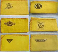 AUTO classica, MG, Austin, Morris, Alvis, BL: Hi-Quality Panno di pulizia Duster con logo