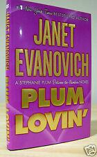 JANET EVANOVICH PLUM LOVIN SIGNED DATED 1st PRINTING NEW & UNREAD