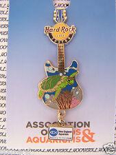 2012 HARD ROCK CAFE BOSTON SEA TURTLE AZA NEW ENGLAND AQUARIUM DANGLE PIN