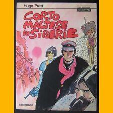 CORTO MALTESE EN SIBÉRIE Hugo Pratt EO 1979