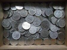 100 sixpences Lucky et nettoyer le Roi George VI et la Reine Elizabeth II