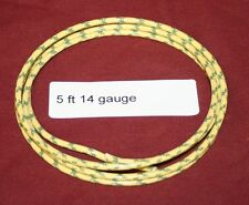 5 ft 14 ga Primary Yellow Wire Hit & Miss Gas Engine Motor Ignitor Ignition Buzz