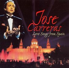 JOSE CARRERAS - LOVE SONGS FROM SPAIN  - CD (1998)