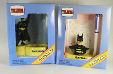 Batman === 2 Figuren Marvel Superhelden Klammerschale / Stiftset in OVP