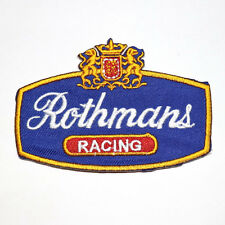 Rothmans tobacco Sports Racing Team Motorcycles Car Biker T-Shirt Iron on Patch