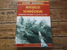 HEIMDAL - ALBUM MEMORIAL BATAILLE DE NORMANDIE NORMANDY INVASION 1944