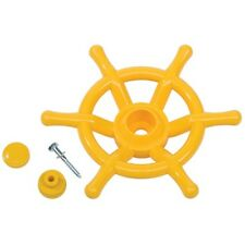 STEERING WHEEL BOAT~YELLOW KBT Cubby House Accessories Playground Equipment Fort