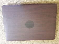 """Toughshell hardcase for Macbook Air 13"""", wood effect finish, 2 piece shellq"""