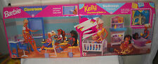 #9358 NRFB Mattel Barbie Classroom & Kelly Bedroom Playsets