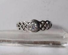 Zircon White Fine Rings