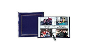 Pioneer ST-400 3-Ring Photo Album Navy Blue (Same Shipping Any Qty)