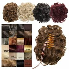 WOMENS EASY UPDO CURLY HAIR MESSY BUN CLAW CLAMP DRAWSTRING KOKO HAIR PIECE