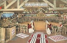 Atlantic City New Jersey~Tom Endicotts Dude Ranch Interior~Band~Dance Floor~1941