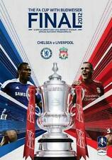 * 2012 FA CUP FINAL PROGRAMME - LIVERPOOL v CHELSEA *