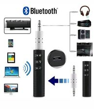 AUX Wireless Bluetooth 3.5mm Jack Audio Stereo Music Home Car Receiver Adapter