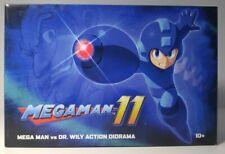 Mega Man vs Dr Wily Action Diorama Capcom New In Box