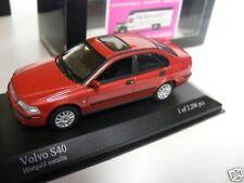 1/43 Minichamps Volvo S 40 2000 rotmetallic