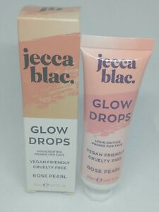 Jecca Blac Highlighting Primer Glow Drops in Rose Pearl BNIB Vegan 20ml RRP £16